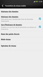 HTC One Max - Internet et roaming de données - Désactivation du roaming de données - Étape 5