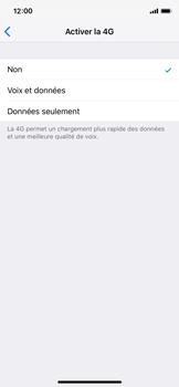 Apple iPhone XS - Réseau - Activer 4G/LTE - Étape 6