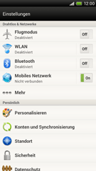 HTC S720e One X - Bluetooth - Geräte koppeln - Schritt 6