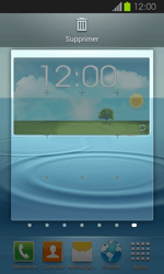 Samsung Galaxy Express - Prise en main - Installation de widgets et d