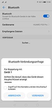 Huawei P20 Pro - Bluetooth - Geräte koppeln - Schritt 9