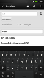 HTC One - E-Mail - E-Mail versenden - 0 / 0