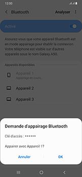 Samsung Galaxy A50 - Bluetooth - connexion Bluetooth - Étape 10