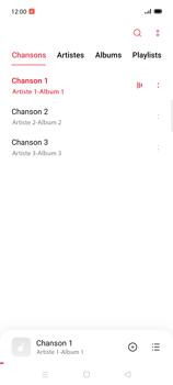 Oppo Find X2 Lite - Photos, vidéos, musique - Ecouter de la musique - Étape 6