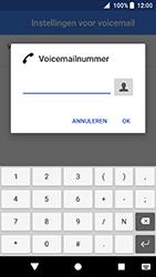 Sony Xperia XA2 - Voicemail - handmatig instellen - Stap 11