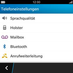BlackBerry Q5 - Anrufe - Rufumleitungen setzen und löschen - Schritt 6