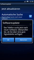 Sony Ericsson Xperia X10 - Software - Update - Schritt 7
