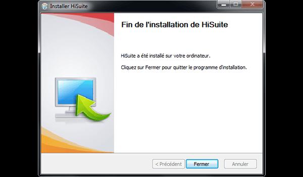 Huawei Mate 9 - Logiciels - Installation du logiciel de synchronisation PC - Étape 10