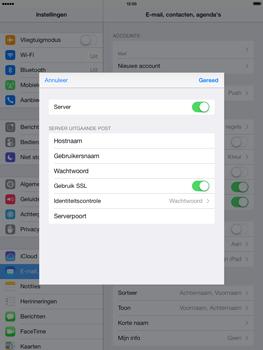 Apple iPad Air - E-mail - handmatig instellen - Stap 18
