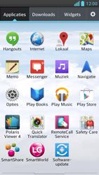 LG P875 Optimus F5 - wifi - handmatig instellen - stap 3