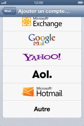 Apple iPhone 4 S - E-mail - Configuration manuelle - Étape 6