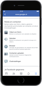 Apple iPhone 6s Plus - iOS 12 - apps - deactiveer automatisch afspelen in Facebook - stap 7