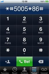 Apple iPhone - voicemail - handmatig instellen - stap 4