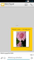 Alcatel OT-6034 Idol S - MMS - Erstellen und senden - Schritt 20