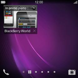 BlackBerry Q10 - Applicazioni - Configurazione del negozio applicazioni - Fase 14