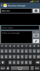 Samsung Galaxy S4 - Contact, Appels, SMS/MMS - Envoyer un MMS - Étape 11
