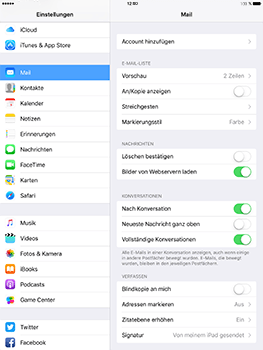 Apple iPad Mini 4 - E-Mail - Konto einrichten (outlook) - 4 / 11
