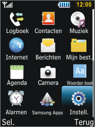 Samsung C3350 Xcover 2 - Buitenland - Bellen, sms en internet - Stap 3