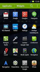 Acer Liquid E3 - Internet - Navigation sur Internet - Étape 2