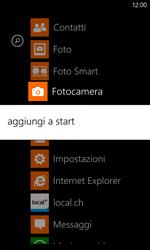 Nokia Lumia 820 / Lumia 920 - Operazioni iniziali - Personalizzazione della schermata iniziale - Fase 4