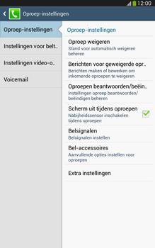 Samsung T315 Galaxy Tab 3 8-0 LTE - Voicemail - Handmatig instellen - Stap 6