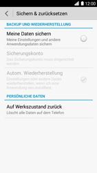 Huawei Ascend G6 - Fehlerbehebung - Handy zurücksetzen - Schritt 7