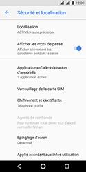 Nokia 3.1 - Sécuriser votre mobile - Personnaliser le code PIN de votre carte SIM - Étape 5