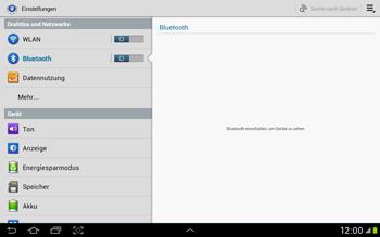 Samsung Galaxy Tab 2 10.1 - Bluetooth - Verbinden von Geräten - Schritt 5