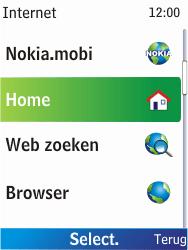 Nokia X2-00 - Internet - Hoe te internetten - Stap 3