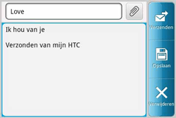 HTC A810e ChaCha - e-mail - hoe te versturen - stap 8
