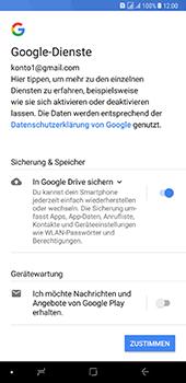 Samsung Galaxy A8 Plus (2018) - Apps - Konto anlegen und einrichten - 17 / 19