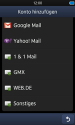 Samsung S8600 Wave 3 - E-Mail - Konto einrichten - Schritt 5