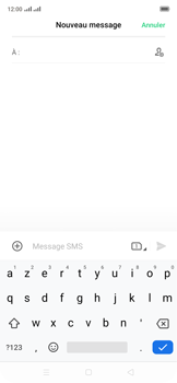 Oppo Reno 2Z - Contact, Appels, SMS/MMS - Envoyer un SMS - Étape 5