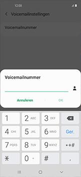 Samsung galaxy-xcover-pro-sm-g715fn - Voicemail - Handmatig instellen - Stap 9
