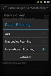 Sony Xperia Miro - Ausland - Auslandskosten vermeiden - 9 / 9