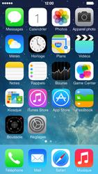 Apple iPhone 5s - Internet et connexion - Partager votre connexion en Wi-Fi - Étape 1