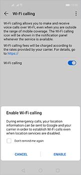 Huawei Nova 5T - WiFi - Enable WiFi Calling - Step 8