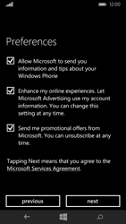 Microsoft Lumia 535 - Applications - Setting up the application store - Step 20