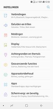 Samsung Galaxy A8 (2018) - Wi-Fi - Verbinding maken met Wi-Fi - Stap 4