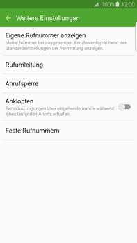 Samsung G928F Galaxy S6 edge+ - Anrufe - Rufumleitungen setzen und löschen - Schritt 7