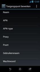 HTC Desire 310 - internet - handmatig instellen - stap 14