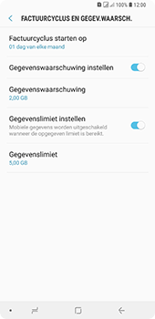 Samsung Galaxy A9 (2018) - internet - mobiele data managen - stap 13