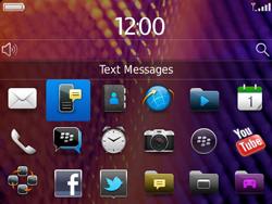 BlackBerry 9360 Curve - SMS - Manual configuration - Step 3