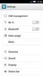 Alcatel OT-5036X Pop C5 - Internet - Manual configuration - Step 4