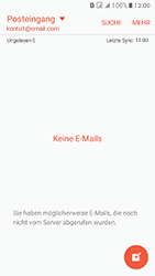 Samsung J510 Galaxy J5 (2016) DualSim - E-Mail - Konto einrichten - Schritt 5