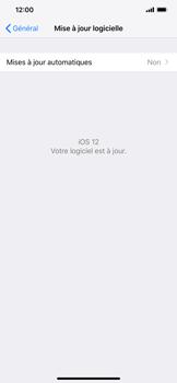 Apple iPhone XR - Aller plus loin - Mettre à jour le logiciel interne de votre mobile - Étape 7