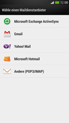 HTC One Mini - E-Mail - Manuelle Konfiguration - Schritt 5