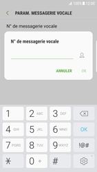 Samsung Galaxy S6 Edge - Android Nougat - Messagerie vocale - configuration manuelle - Étape 9