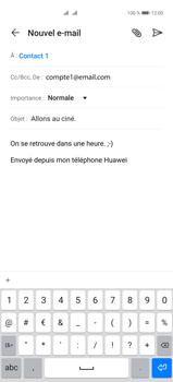 Huawei P40 Pro - E-mails - Envoyer un e-mail - Étape 9