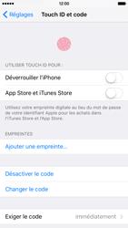 Apple iPhone 6s - Sécuriser votre mobile - Activer le code de verrouillage - Étape 7